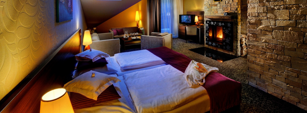 DE LUX room Plesnivec for 4-5 persons